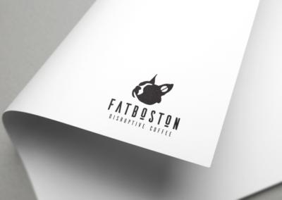 Fat Boston Logo Design
